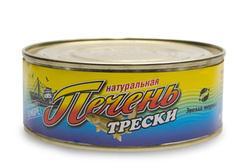 Печень трески в масле, 230г