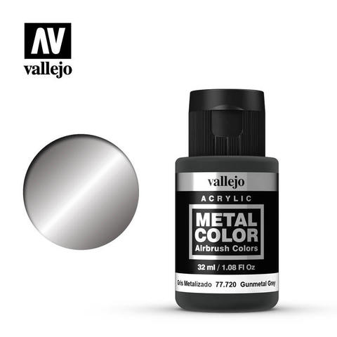 Metal Color Gunmetal 32ml.
