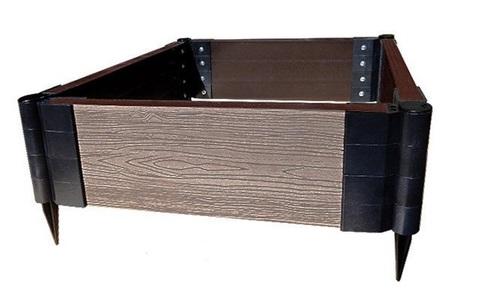 Еврогрядка 150 из ДПК 150х75 см