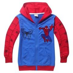 Человек паук толстовка с капюшоном детская