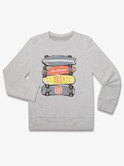 BAC003376 джемпер детский, серый меланж