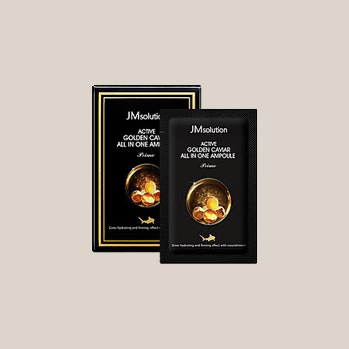 Сыворотка для лица с икрой JM Solution Active Golden Caviar All in One Ampoule