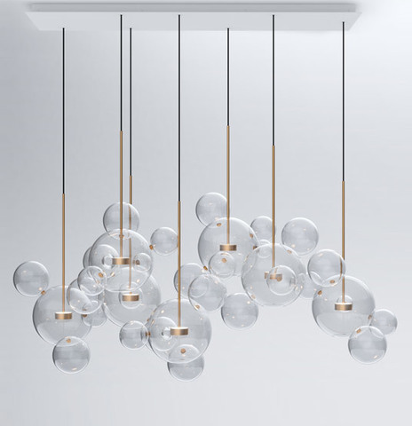 REPLICA BOLLE CHANDELIER LIGHT LARGE 7 BY GIOPATO & COOMBES
