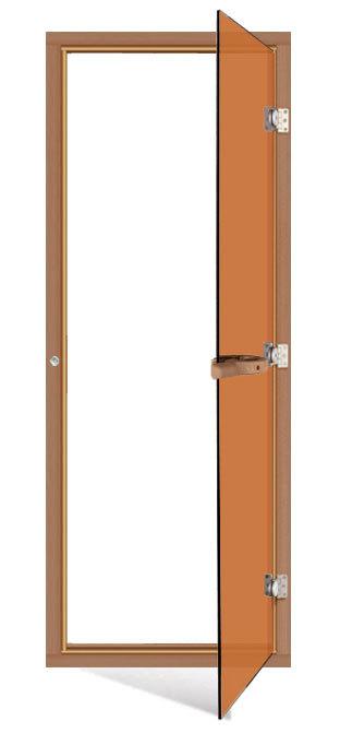 Двери: Дверь SAWO 730-4SGD (7/19, бронза с порогом)