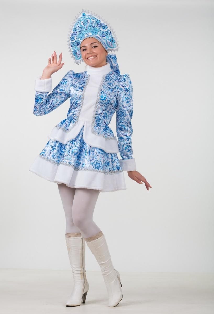Сшить костюм снегурочки своими руками взрослый фото 827