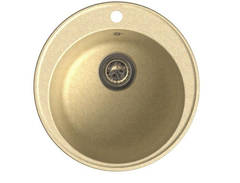 Мойка GranFest (ГранФест) 480 ЕСО-08 для кухни из искусственного камня, бежевый