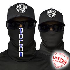 Бандана SA Police-Thin Blue Line-Two-Sided