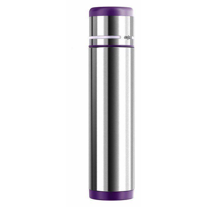 Термос Emsa Mobility (1 литр), фиолетовый/стальной*
