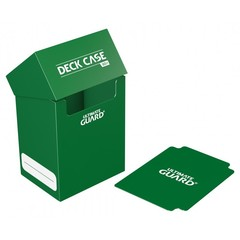 Ultimate Guard - Темно-зеленая коробочка на 80 карт