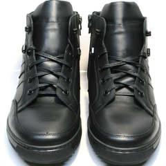 Ботинки мужские зимние кожаные Ikoc 1608-1 Sport Black.