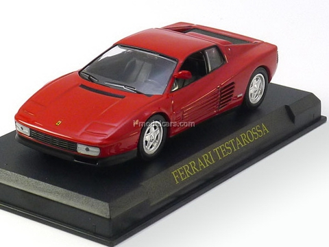 Ferrari Testarossa red 1:43 Eaglemoss Ferrari Collection #10