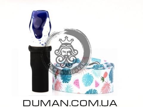 Персональный мундштук Gusto Bowls (Густо Болс) |Blue-White Summer
