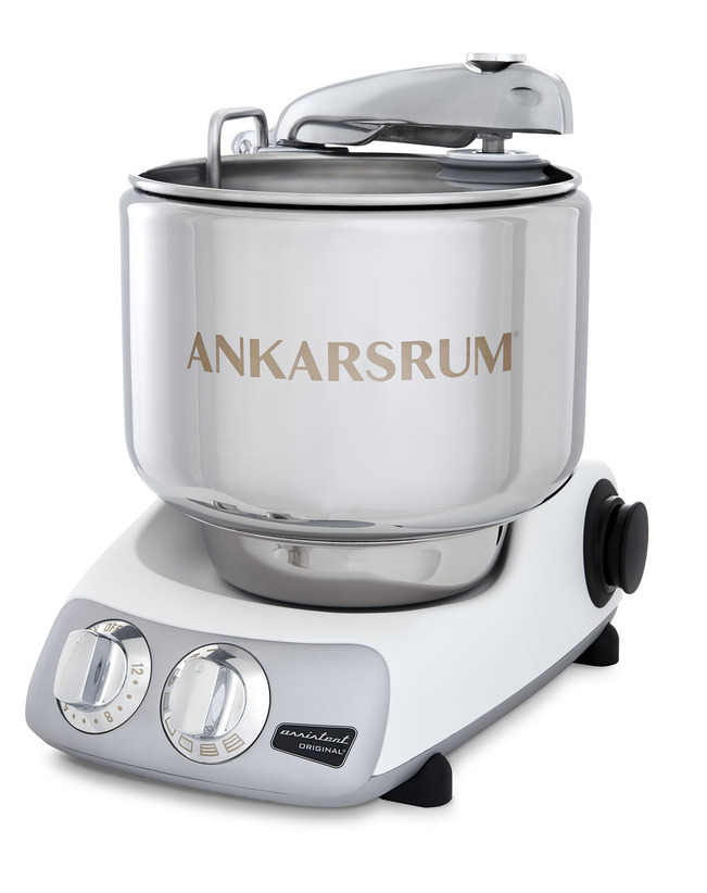 Тестомес комбайн Ankarsrum AKM6230WH+ Assistent белый (расширенный)