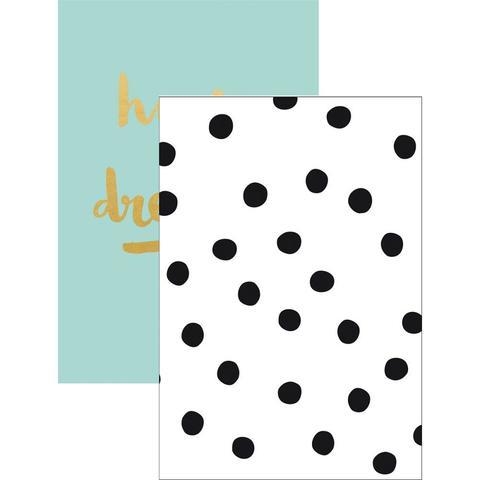 Блокноты для записи Kaiser Style Pocket Notebooks -Bloom; Blank - 10,5 х15 см/ 60л./2шт.