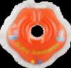 Baby-Krug. Детский круг для купания на шею, 0-24 мес оранжевый (полуцвет)