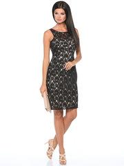 WD2415V-1 платье женское, черное