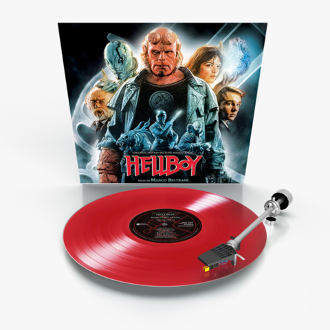 Комплект из 2-х виниловых пластинок. Hellboy. Original Motion Picture Soundtrack