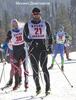 Раздельный лыжный гоночный комбинезон NordSki Premium Black-Gray