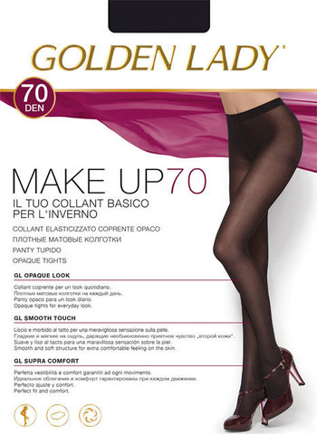 Колготки Make Up 70 Golden Lady