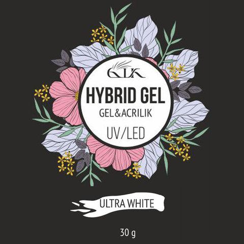Gellaktik Hybrid Gel UV/LED №13 Ultra White 30 г