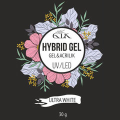 Gellaktik Hybrid Gel UV/LED №13 Ultra White 30 г
