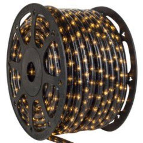 Ледовский шланг ПВХ трубка дюралайт 2WRL светодиодный Delux Черный яркий