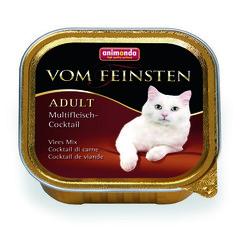 Animonda Vom Feinsten Adut консервы для взрослых кошек из разных сортов мяса 100гр