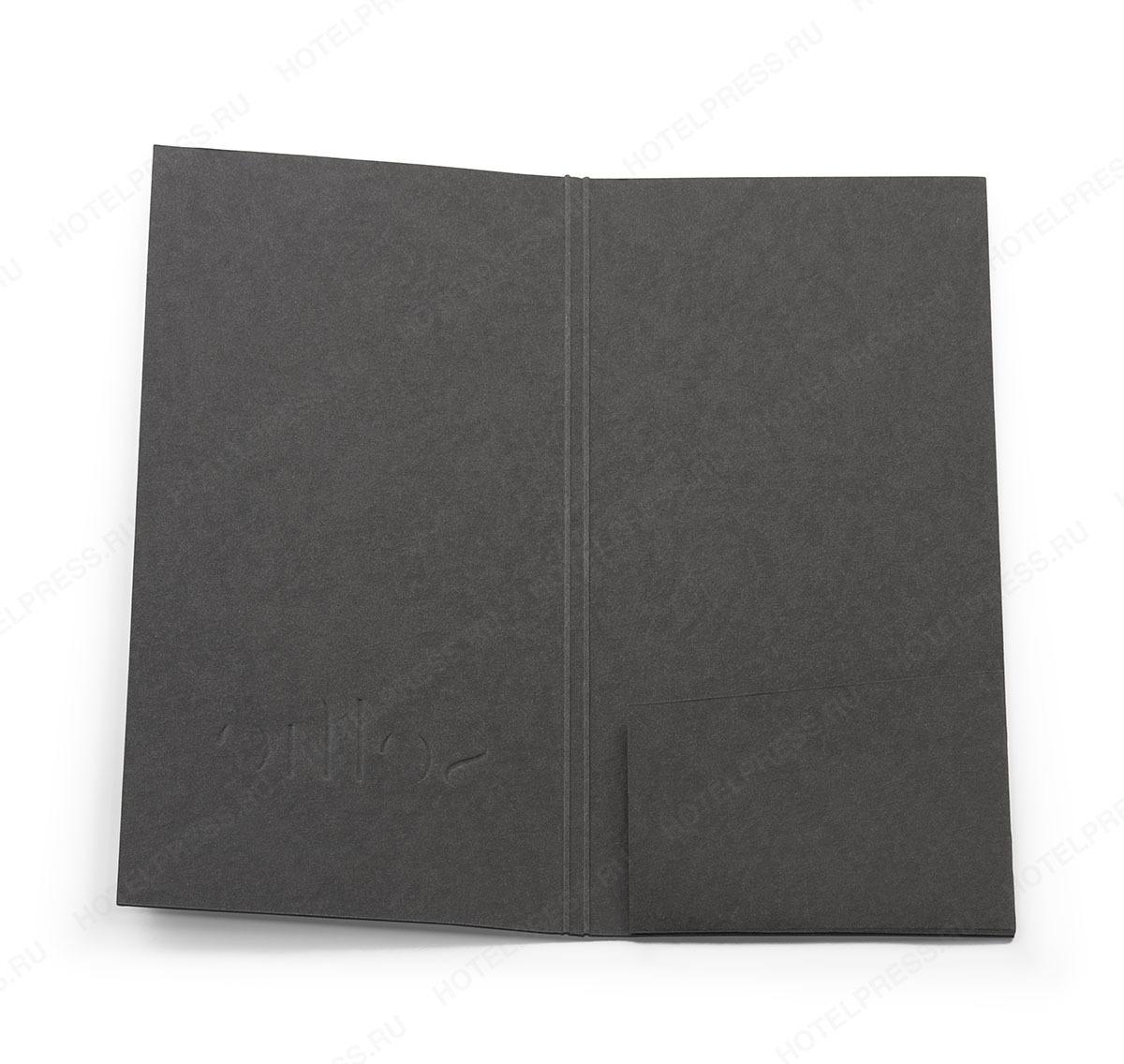 Папка-счет из дизайнерской бумаги. ПС_7
