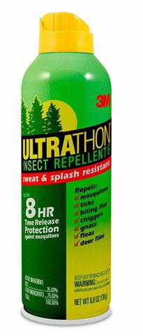 Аэрозоль для защиты от клещей, мошки и комаров UltraThon,170 г