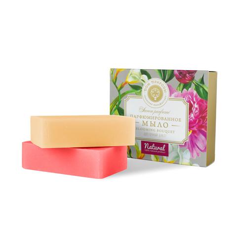 МДП Набор парфюмированного мыла Цветочный букет, 200г