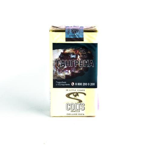 Сигариллы Colts LC Vanilla 20 шт
