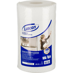 Салфетки Luscan универсальные в рулоне, 25,5х20.5см, 45 г/м2, 140шт.