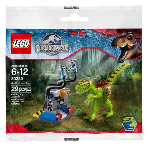 LEGO Jurassic World: Ловушка для галлимима 30320