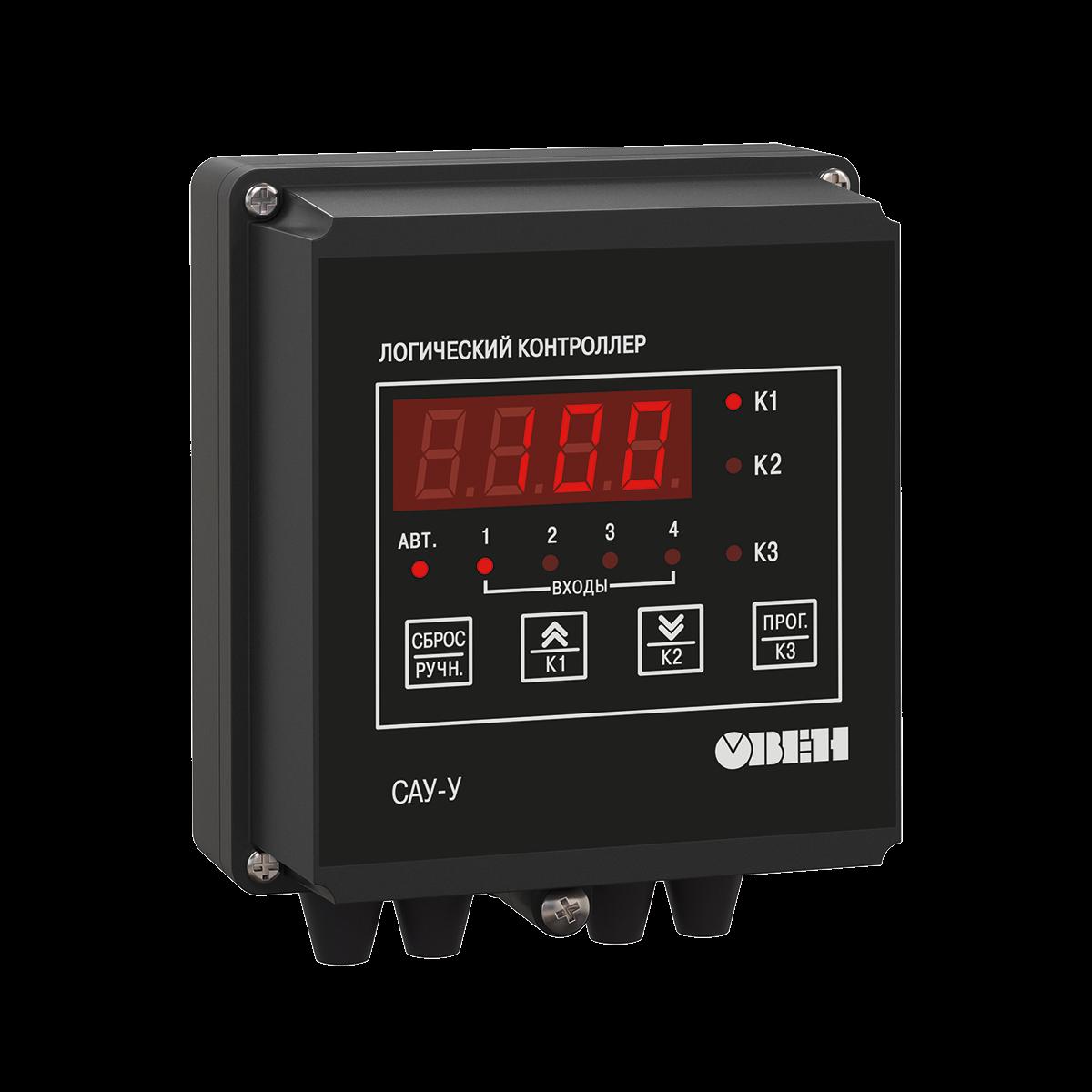 САУ-У контроллер для управления группой насосов с чередованием