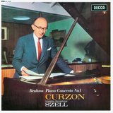 Clifford Curzon, George Szell, London Symphony Orchestra / Brahms: Piano Concerto No. 1 (LP)