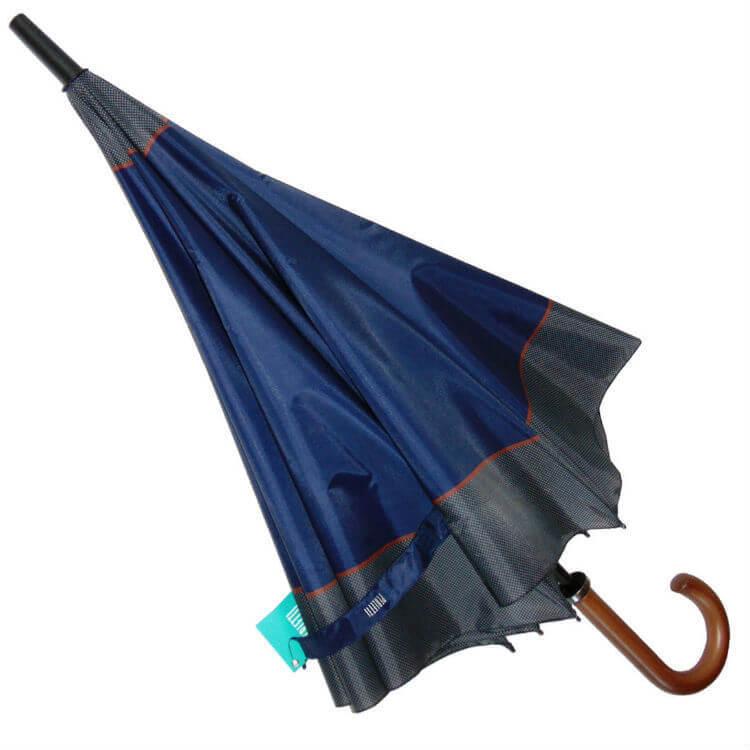 Зонт-трость Perletti Time 25933-blue Golf blue scuro