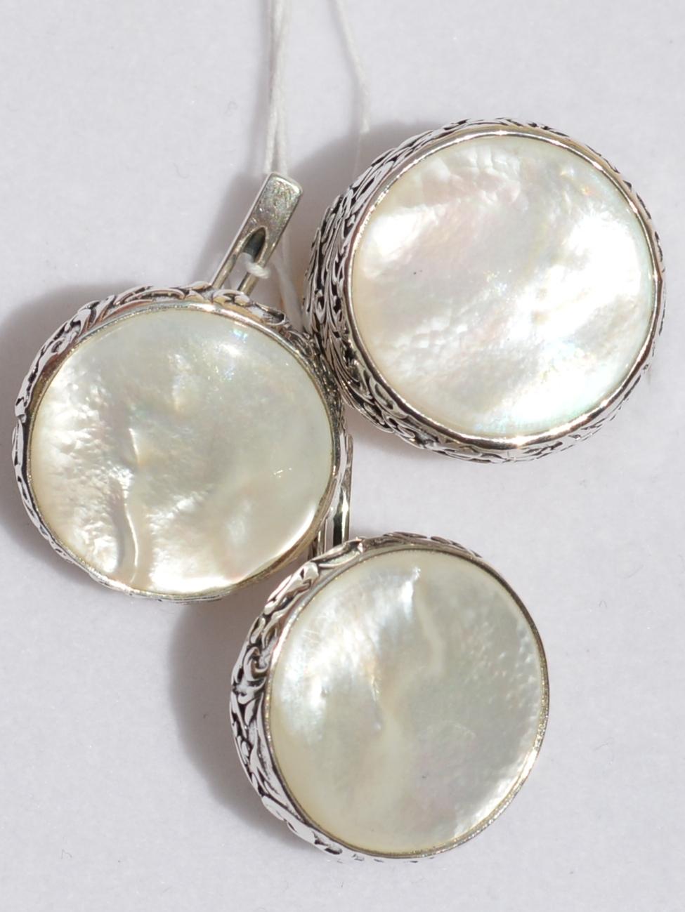 Аделла (кольцо + серьги из серебра)