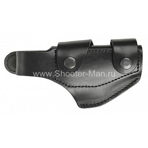 Кожаная кобура на пистолет Гроза - 03, для водителей ТРАССА ( модель № 9 )