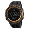 Часы SKMEI 1251 - Черный + золотой с коричневым