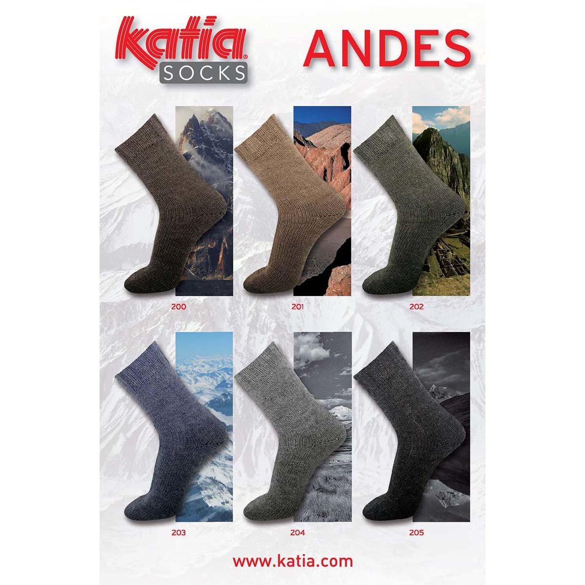 Katia Andes Socks -204