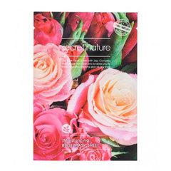 Secret Nature Moisturizing Rose Mask Sheet - Увлажняющая маска для лица с экстрактом розы