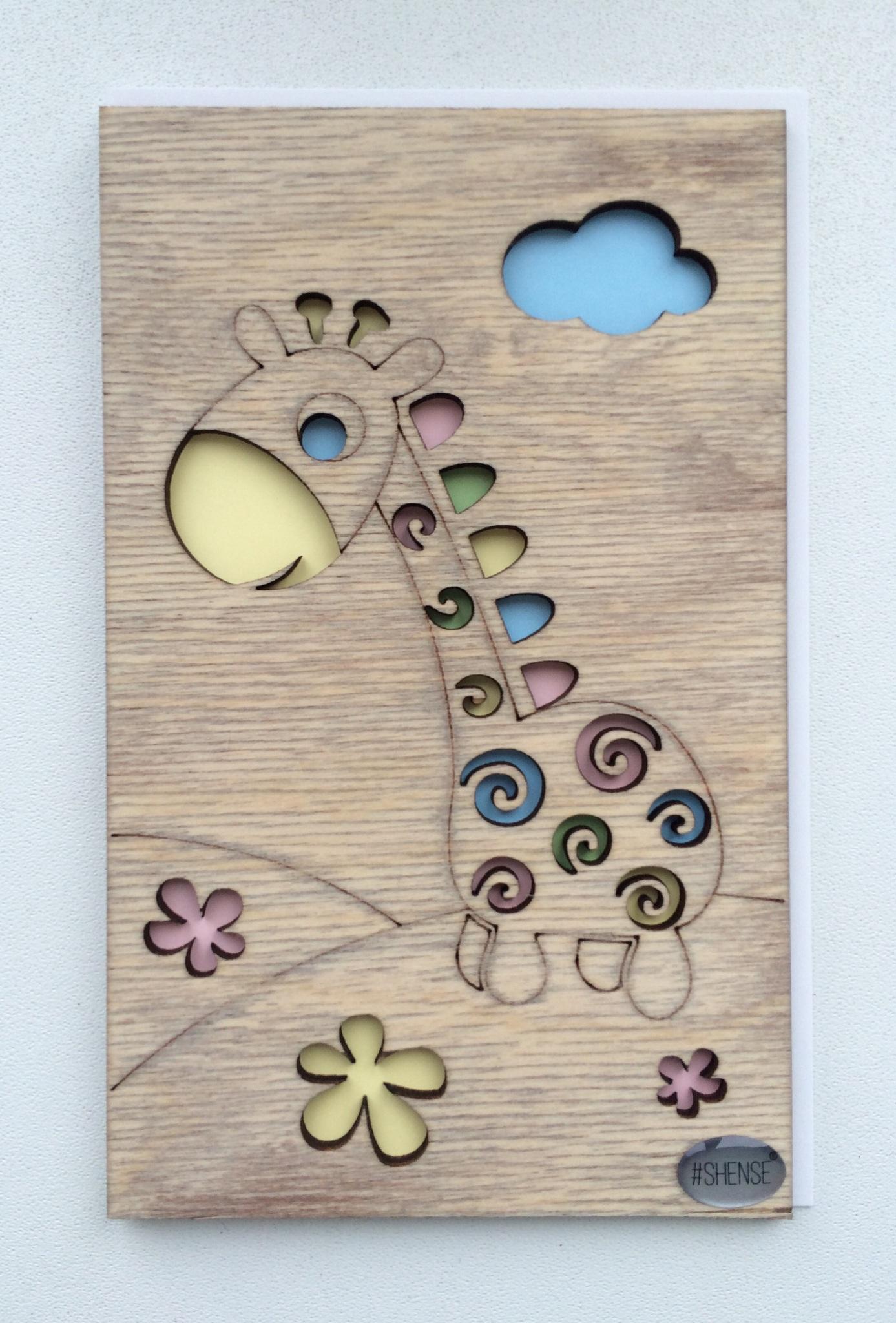 Поздравления, деревянная открытка эскизы