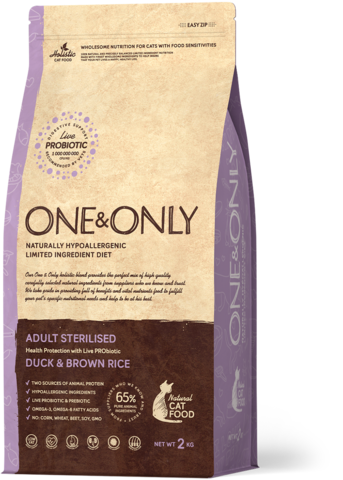 Сухой корм One&Only Duck & Brown Rice Adult Sterilisie