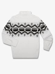 BSW000789 свитер детский, молочный