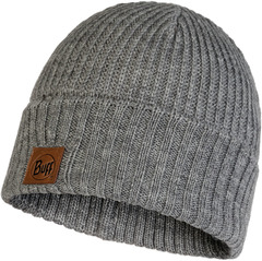 Вязаная шапка Buff Hat Knitted Rutger Melange Grey