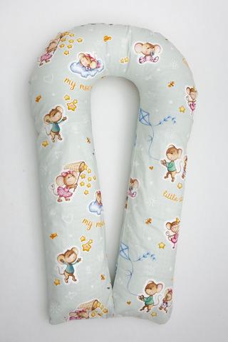Подушка для беременных U350 (полистирол + лебяжий пух) 10090 дружба