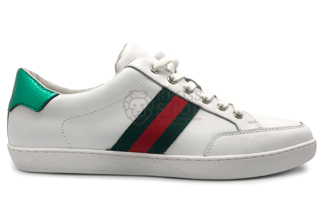 Gucci Men's White/Green
