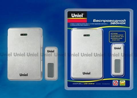Uniel Звонок UDB-005W-R1T1-LS