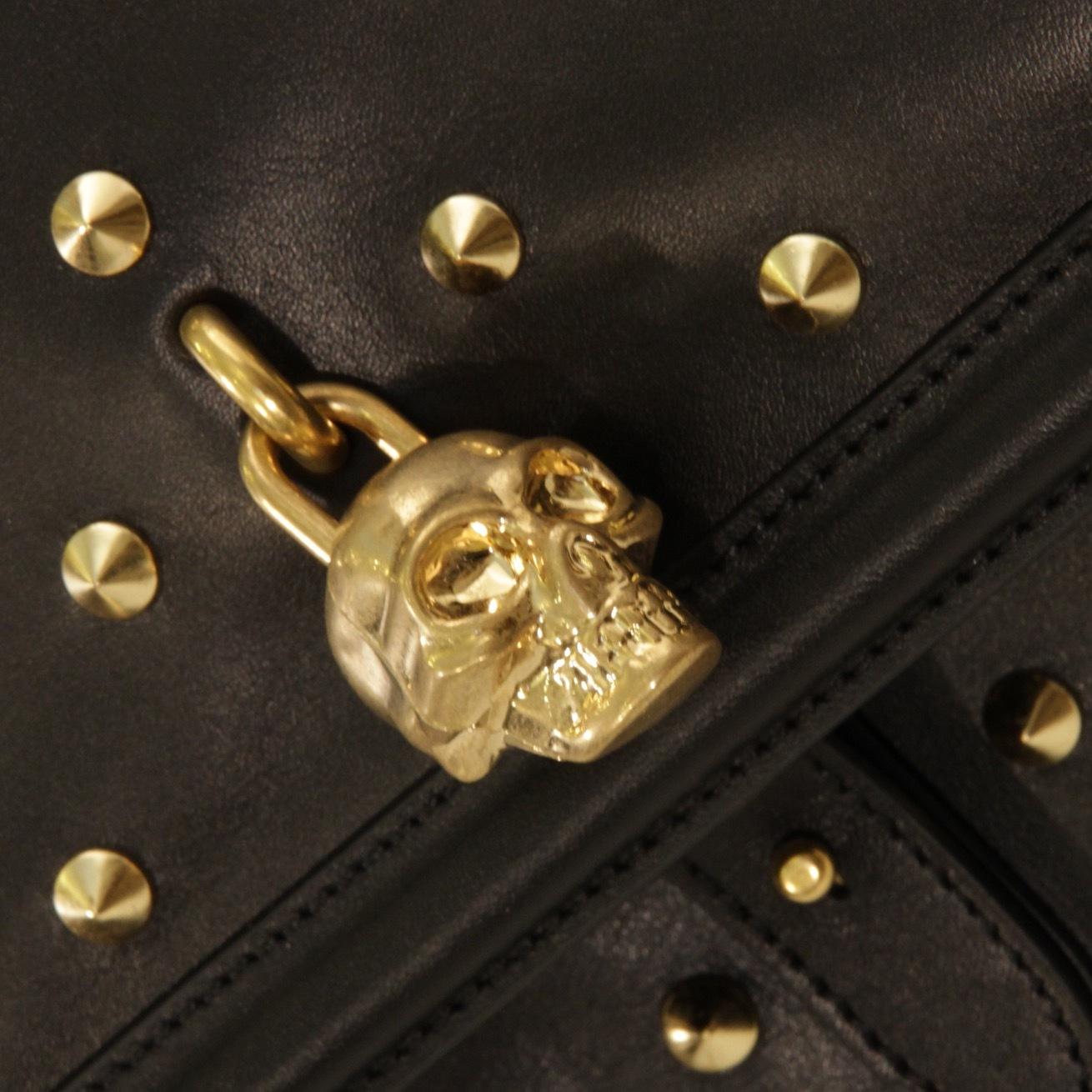 Рюкзак из кожи с шипами ALEXANDER MCQUEEN