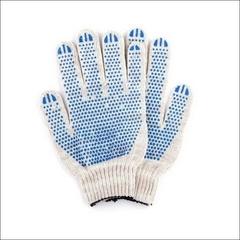 Перчатки с напылением ПВХ точка 10 класс